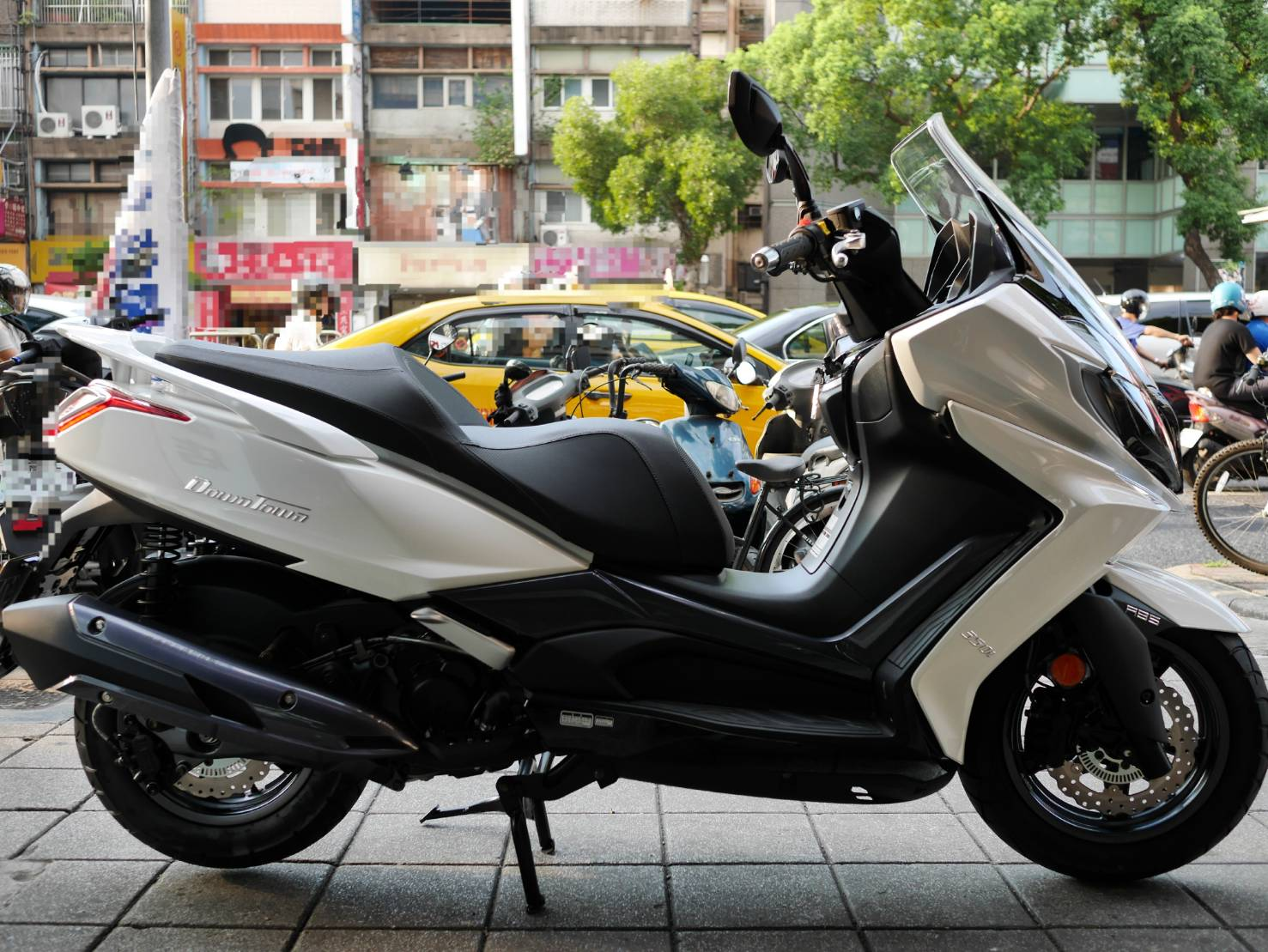 【個人自售】光陽 DOWNTOWN 350 - 「Webike-摩托車市」 KYMCO DownTown350 ABS