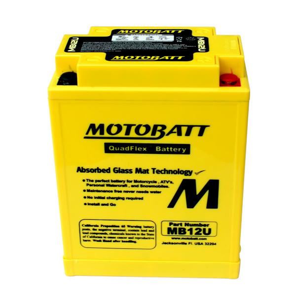 AGM 閥控式強效電池- MB12U