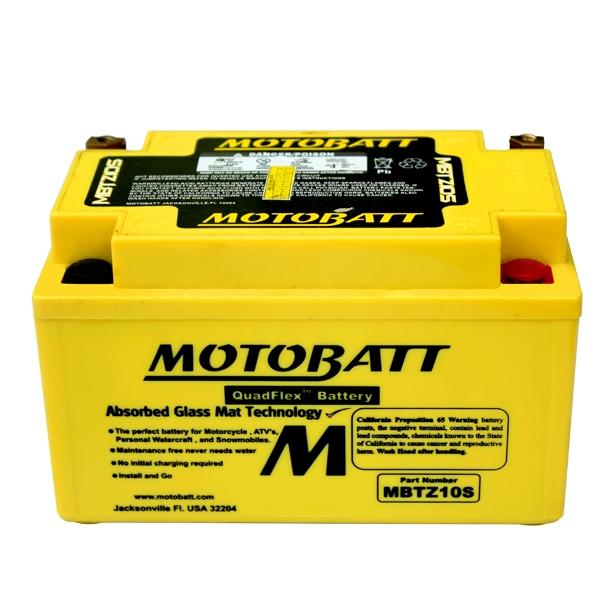 【MOTOBATT】AGM 閥控式強效電池-MBTZ10S