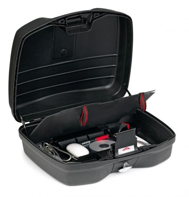 【GIVI】B36N 公事包型後箱 (平光黑)可當側箱