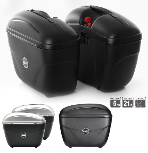 【GIVI】E21G730 側箱 (烤漆銀) - 「Webike-摩托百貨」