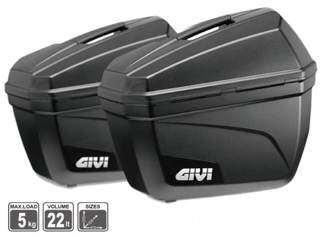 【GIVI】E22N 側箱 (平光黑)