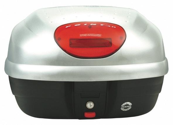 【GIVI】E33G730 後箱 (烤漆銀)附燈 - 「Webike-摩托百貨」