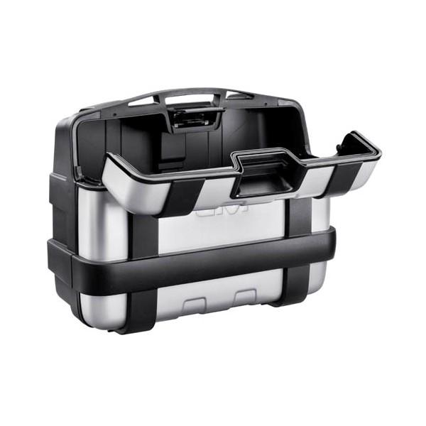 【GIVI】TRK33PACK2V 仿鋁後箱  銀 (類似BMW款) - 「Webike-摩托百貨」