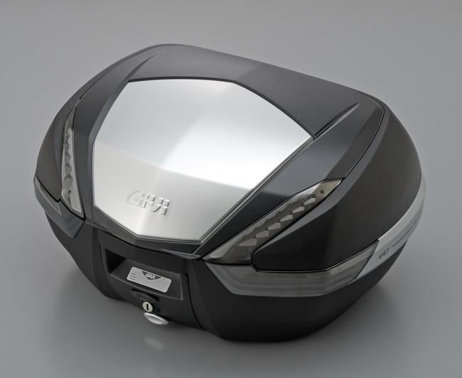 V47NT 後箱 (平光黑/鋁片)無燈(燻黑反光片)