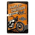 【HARLEY-DAVIDSON 哈雷】H-D 哈雷金屬牌