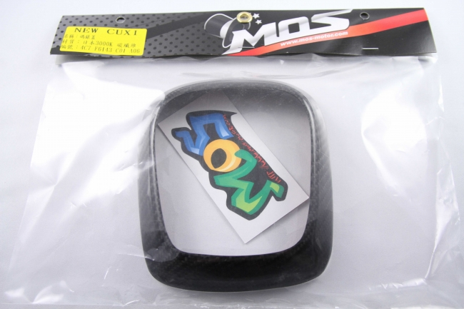 【MOS】YAMAHA NEW CUXI 碼表板外蓋 (碳纖維)