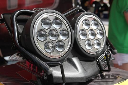 YAMAHA BWS-125 美規七龍珠魚眼燈組
