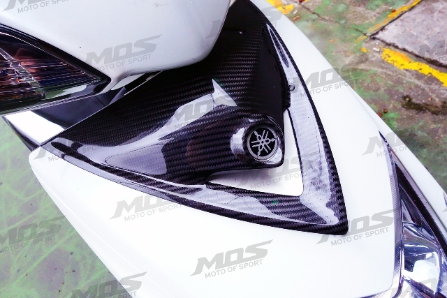 【MOS】新勁戰X 大盾飾蓋 碳纖維