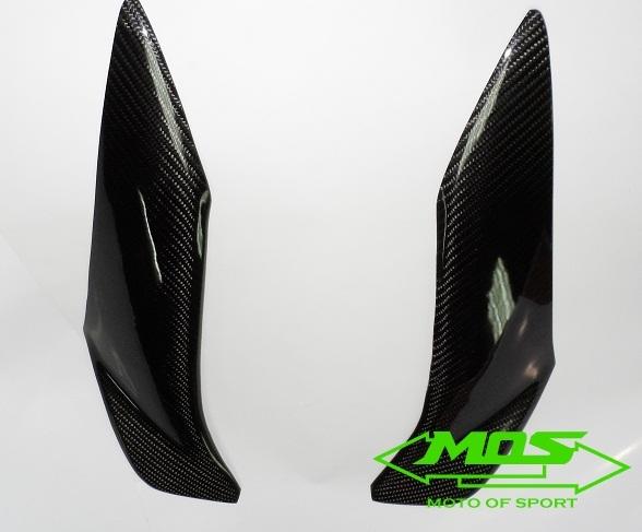 【MOS】YAMAHA BWS-125 碳纖維前飾板貼片