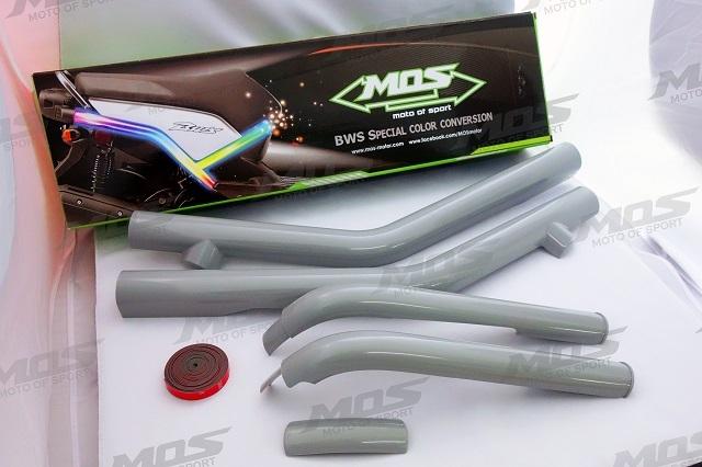 【MOS】YAMAHA BWS-125 五件式車台蓋 (素材)