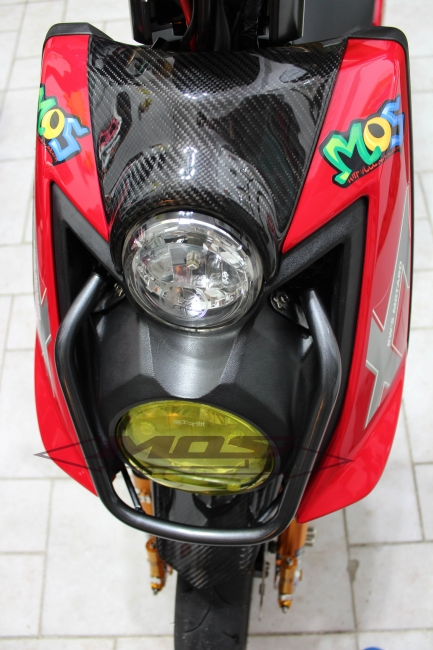【MOS】YAMAHA BWS-125 美規鋁合金前燈保桿