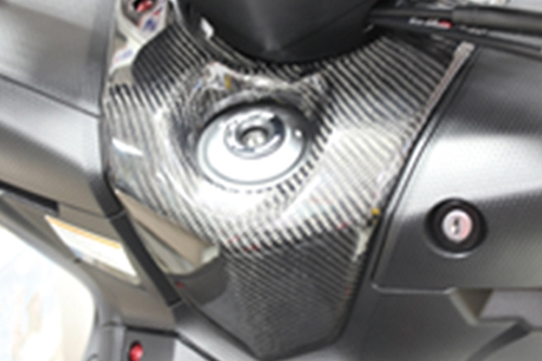 【MOS】YAMAHA T-MAX 530 碳纖維鎖頭飾板