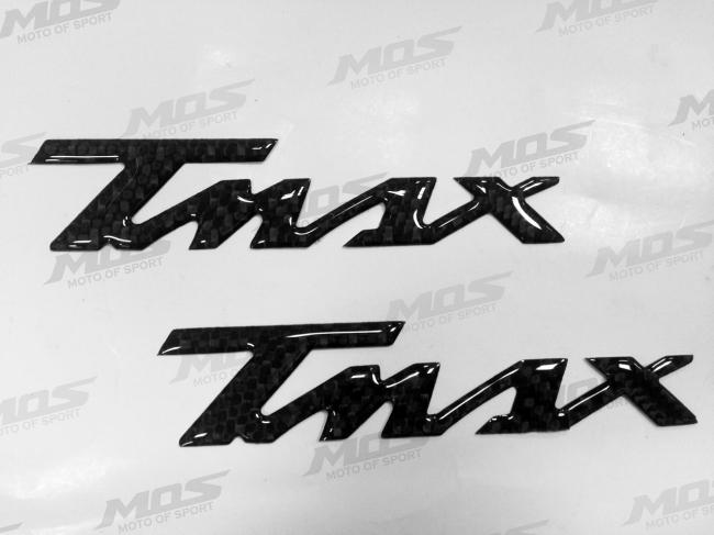 YAMAHA T-MAX 碳纖維LOGO 貼紙