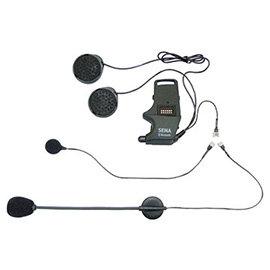 安全帽夾具-可掛載支架麥風及有線麥克風(SMH10用)