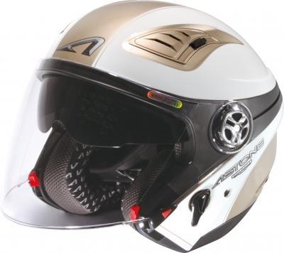 DJ10C(610A-OO1)四分之三安全帽(可加裝下巴)