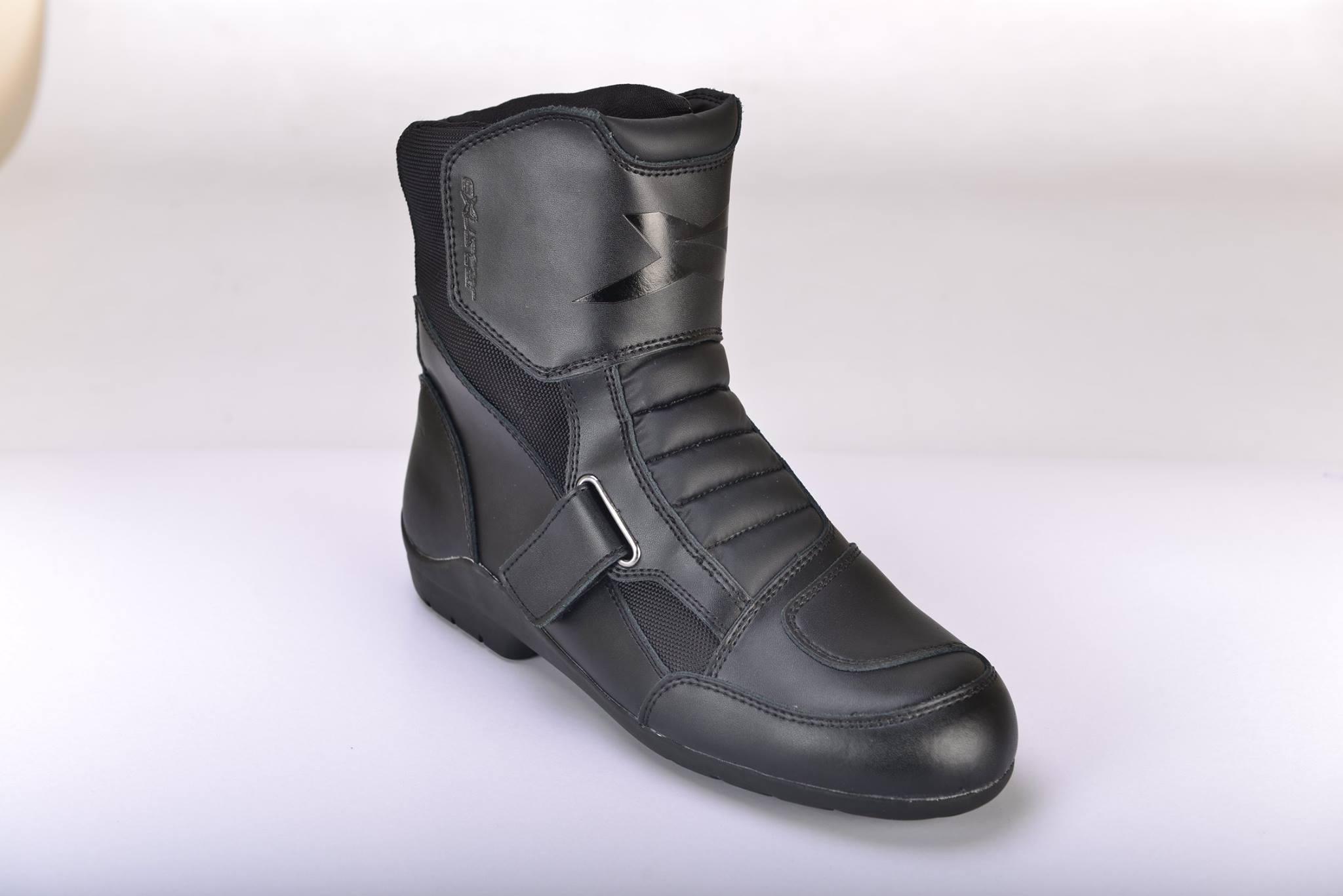 【EXUSTAR】防潑水中筒車靴 E-SBT291W