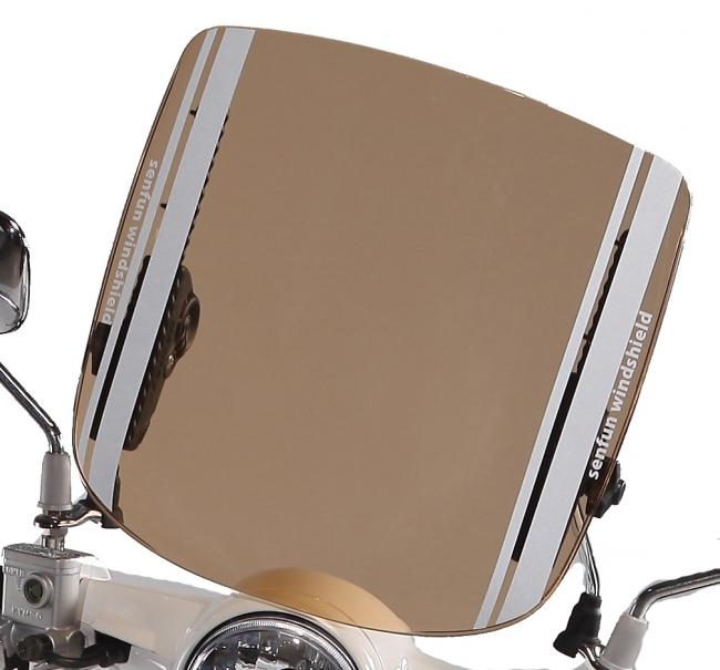 炫之風可調式檔風鏡 B 款(棕色)