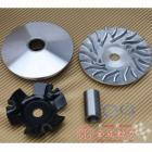 【KC 金成動力】RS改GY6大珠普利盤+風葉+壓板+滑片+中心管組-5HK通用