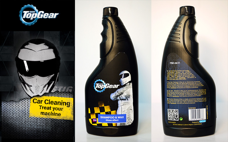 Shampoo & Wax 濃縮水蠟洗車精