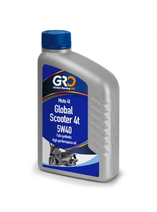 GLOBAL SCOOTER 4T 5W40 速可達專用機油(一箱12罐)