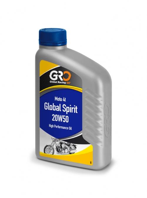 【GRO】GLOBAL SPIRIT 20W50 機油(一箱12罐) - 「Webike-摩托百貨」