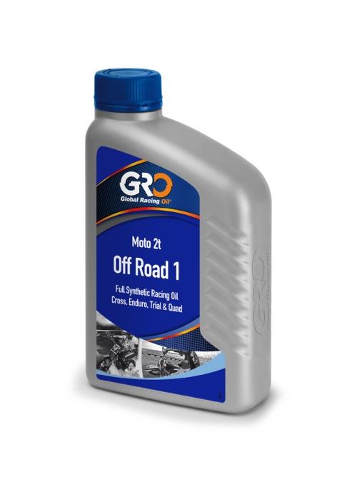 【GRO】OFF ROAD-1 2T 越野機車專用脂類磇麻油(一箱12罐) - 「Webike-摩托百貨」