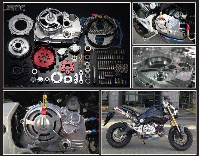SMR CNC 6片式乾式離合器組 (油壓版)