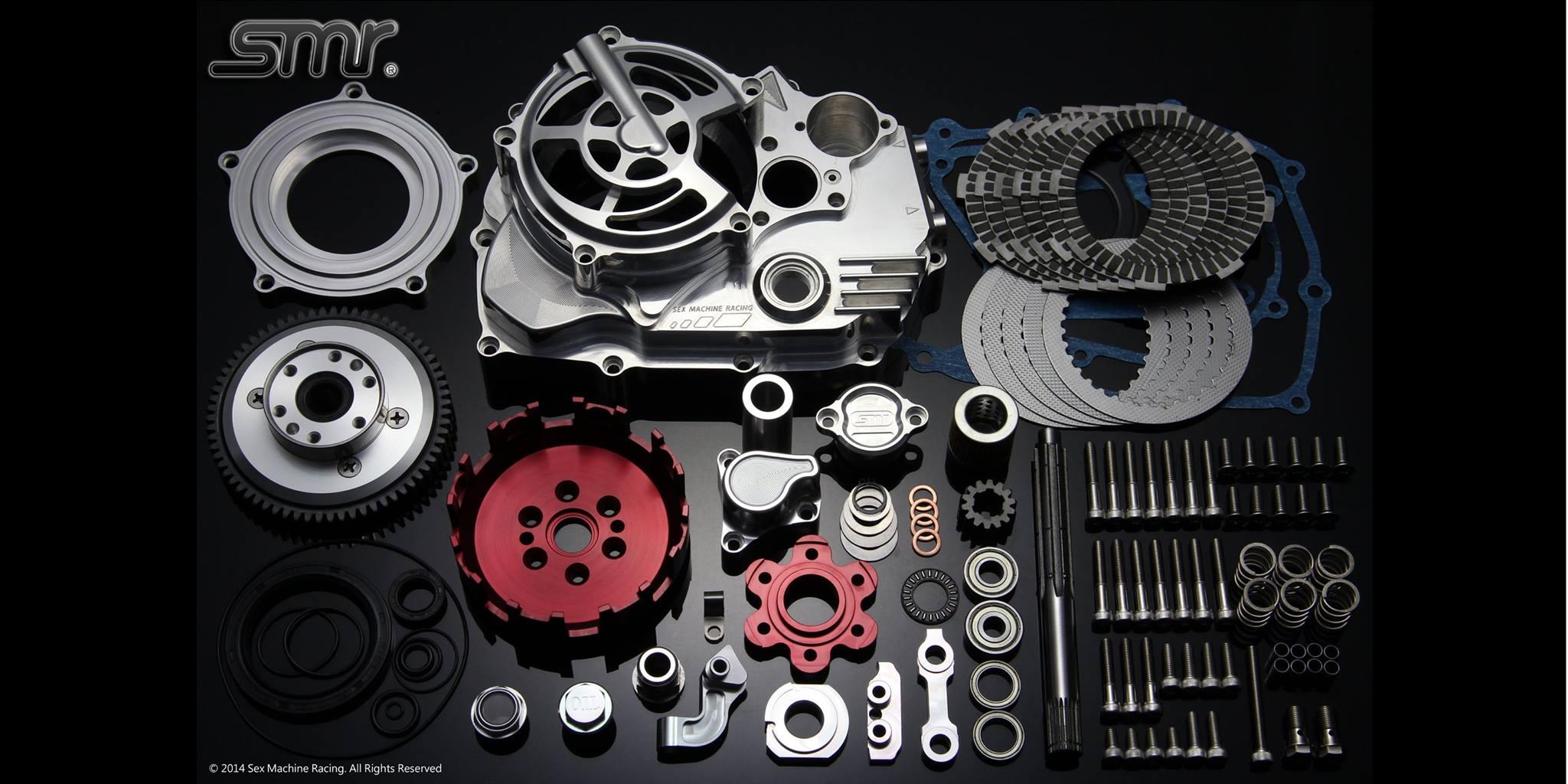 SMR CNC 6片式乾式離合器組 (鋼索版)
