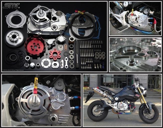 SMR CNC 6片式乾式離合器組 (5速專用)(油壓版)