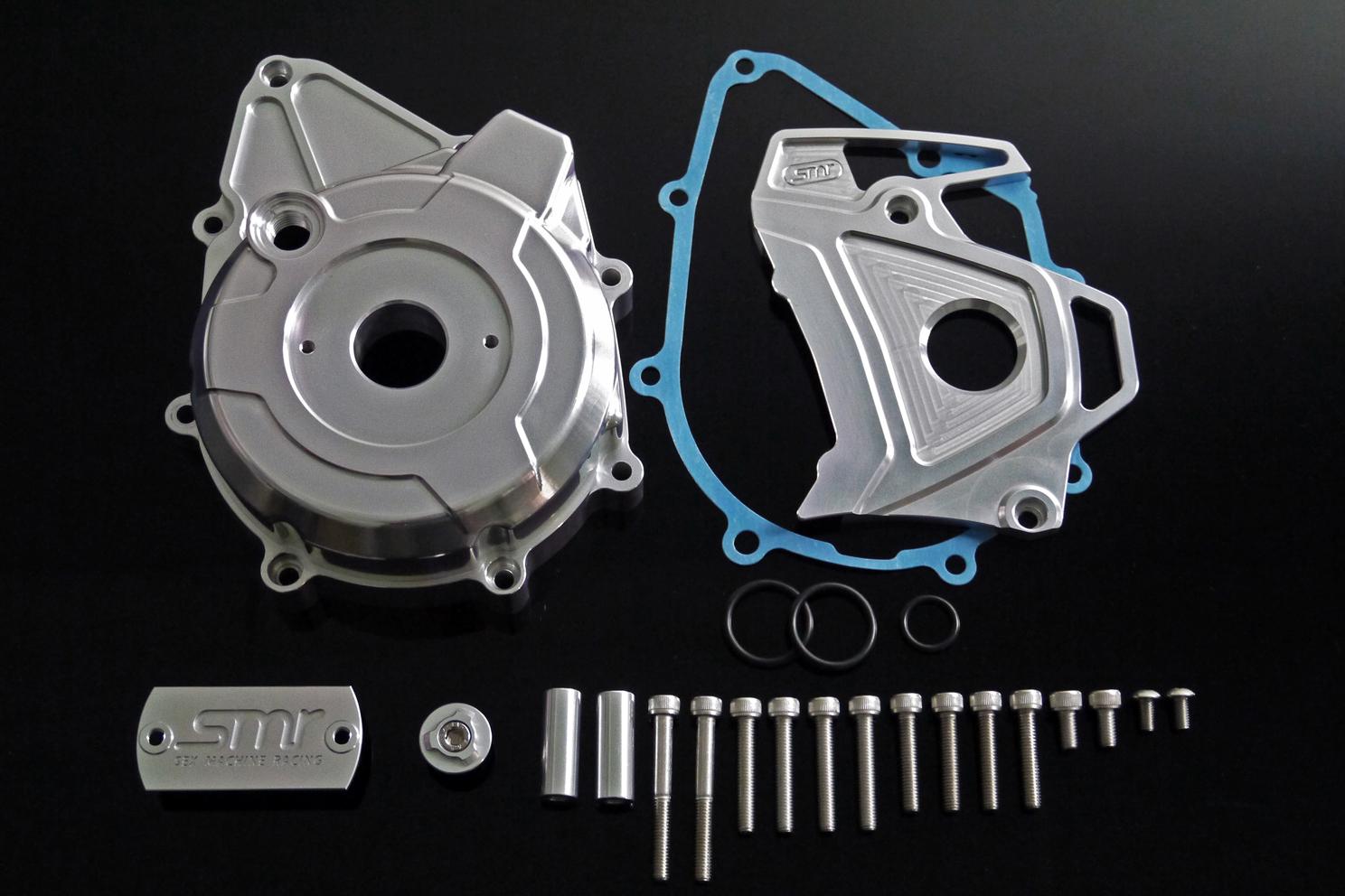 SMR CNC 電盤外蓋&前齒盤蓋 (HONDA MSX-125/GROM-125用)