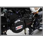 【SMR(猿友)】SMR CNC 電盤外蓋&前齒盤蓋 (HONDA MSX-125/GROM-125用) (黑色)
