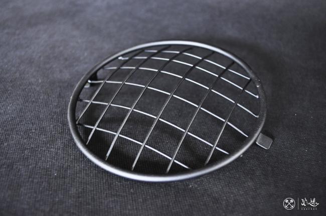 4.5吋不銹鋼大燈燈網(粉體塗裝消光黑)