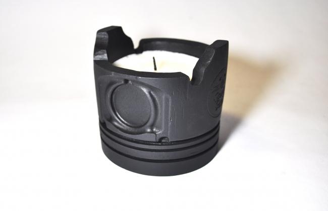 Piston Candle 黑色活塞燭火台