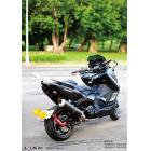 【VIXE】T-MAX500/530 後搖臂土除牌架組