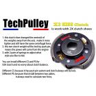 【TechPulley】KISS X2 高階版離合器 A款 134mm