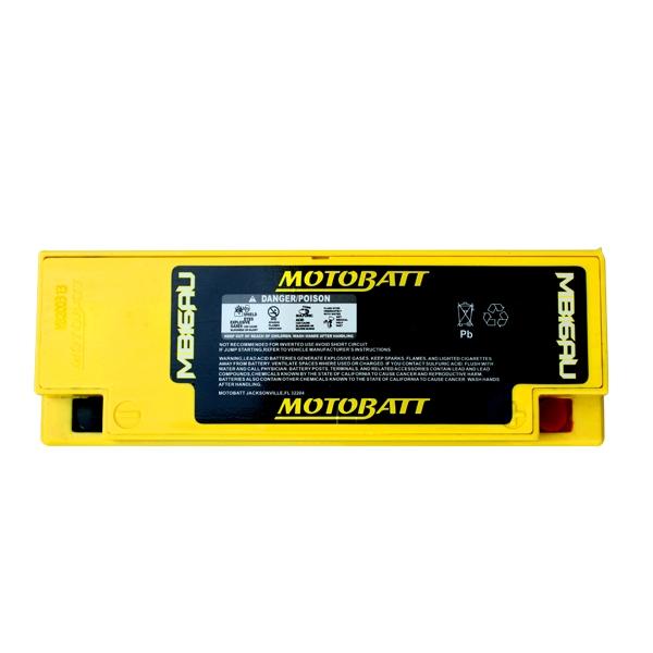 【MOTOBATT】AGM 閥控式強效電池-MB16AU