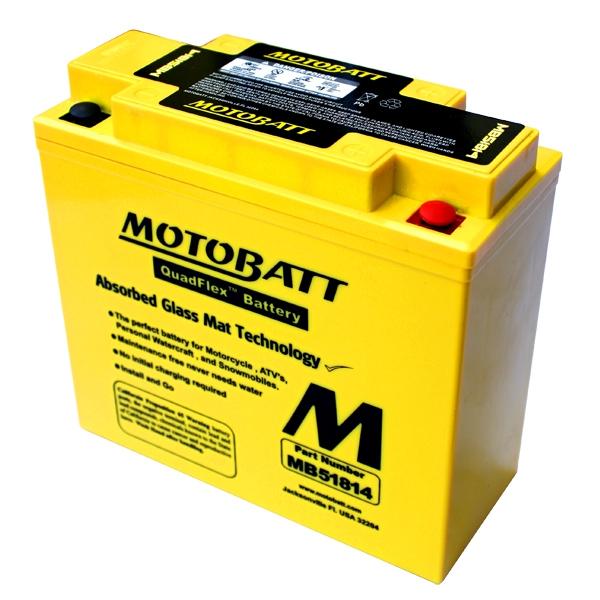 【MOTOBATT】AGM 閥控式強效電池-MB51814