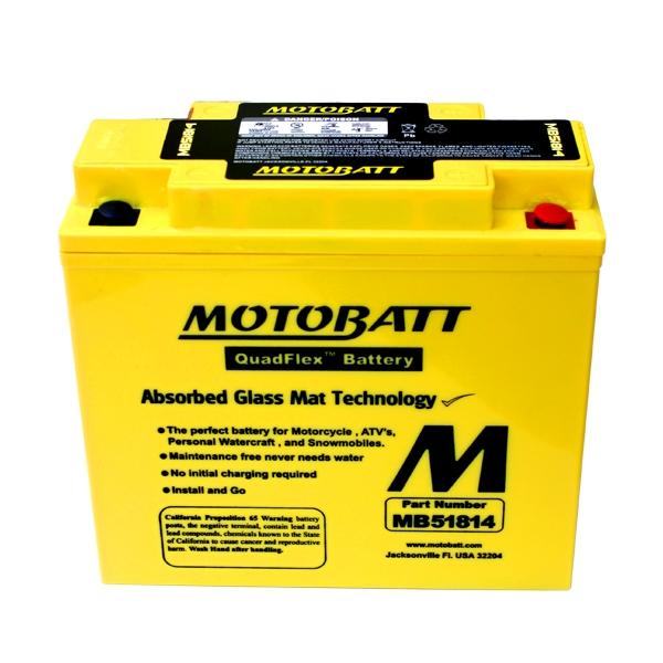 AGM 閥控式強效電池-MB51814