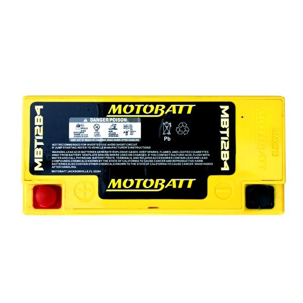 【MOTOBATT】AGM 閥控式強效電池-MBT12B4