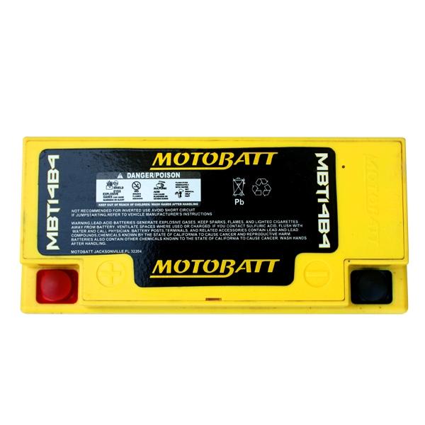【MOTOBATT】AGM 閥控式強效電池-MBT14B4