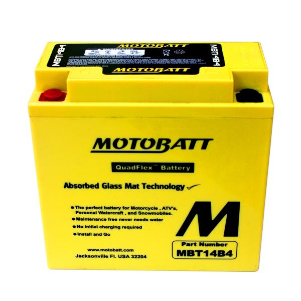 AGM 閥控式強效電池-MBT14B4