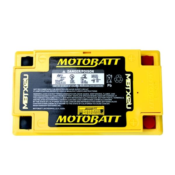 【MOTOBATT】AGM 閥控式強效電池-MBTX12U