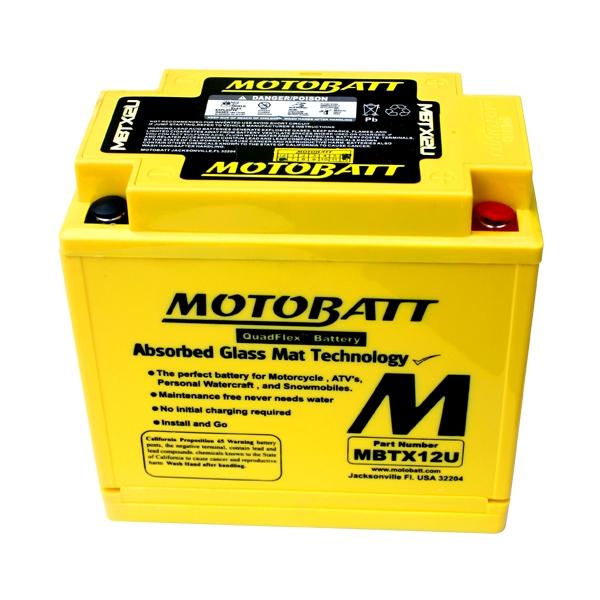 AGM 閥控式強效電池-MBTX12U