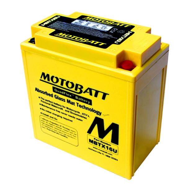 【MOTOBATT】AGM 閥控式強效電池-MBTX16U