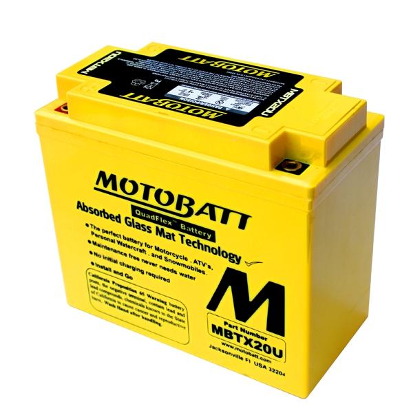 【MOTOBATT】AGM 閥控式強效電池-MBTX20U