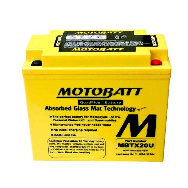 AGM 閥控式強效電池-MBTX20U