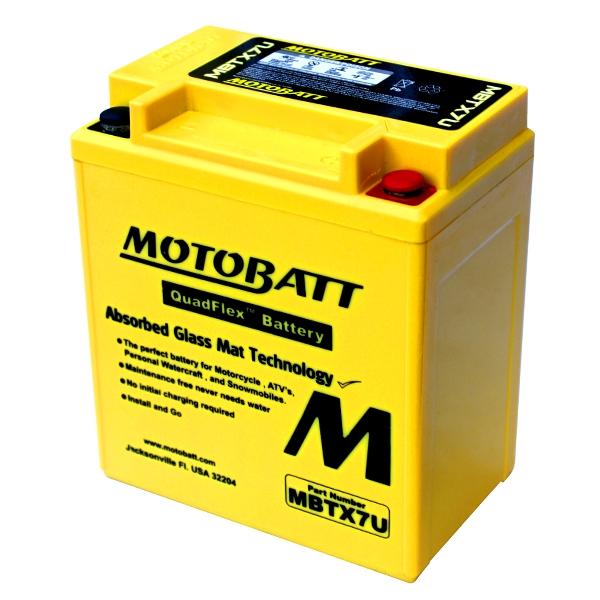 【MOTOBATT】AGM 閥控式強效電池-MBTX7U