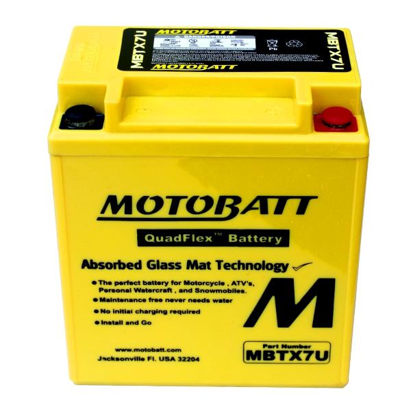 AGM 閥控式強效電池-MBTX7U