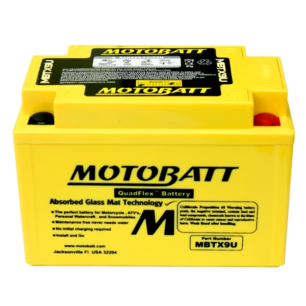 AGM 閥控式強效電池-MBTZ10S